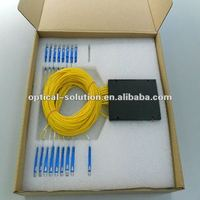 Passive Component Fiber Optical 1*16 PLC Splitter