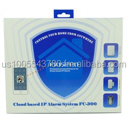 Not GSM Alarm! Network Wireless Home Security 868mhz Cloud IP Alarm System