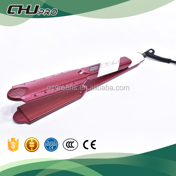 Top Quality New Design LCD Digital Display 230C Hot Selling Wet and dry Hair Straightener