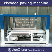 mdf production line/veneer plywood paving machine