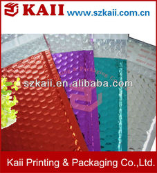custom CD air bubble film bag manufacturer in china
