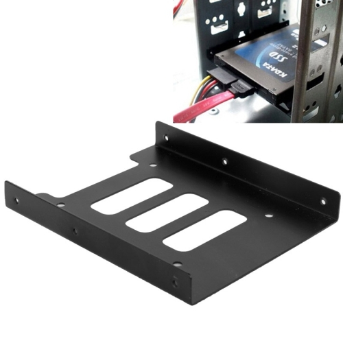 SSD HDD 2.5 inch to 3.5 inch Converter Hard Drive Metal Bracket Adapter Holder