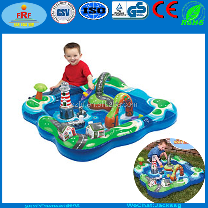 Kids toys PVC Inflatable Water Play Center