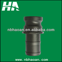 PP coupling / male coupler with hose tails / male camlock with hose barb