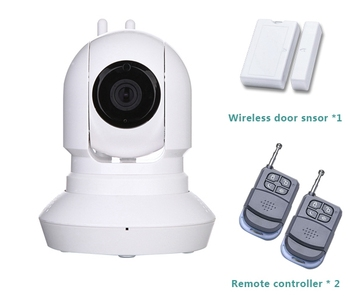 CE/ Rohs Wireless P2P 2 Antenna Wifi Security Camera