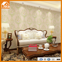 American country style wallpaper/pvc wallpaper/wallpaper for spa decoration