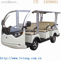 china manufacturer 8 seats electric sightseeing cars