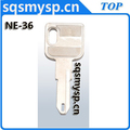 G-047 Best old Auto key blanks NE-36 NE72 NN58 suppliers in china