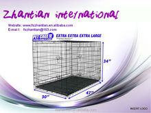 metal wire pet cage.iron dog cage