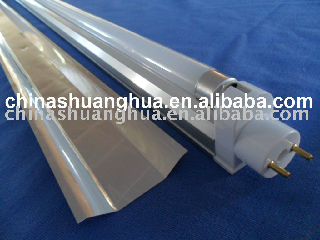 T8 to T5 fluorescent light fixture
