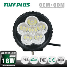 TUFF PLUS wholesale 3.5'' round xenon 18W led work lights for excavator trucks with CE, ROHS, IP68