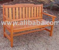 WOODEN PATIO/GARDEN GARDEN BENCH