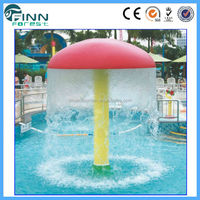 Finn Forest Beautiful Water Park Swimming Pool Spa Mushroom Water Fountain