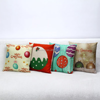 Cushhion Cover Christmas Candy Sofa Throw Pillow Wholesale