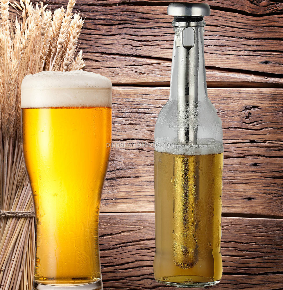 Hot SaleStainless Steel Ice Beer Chiller Stick, Wine Cooler Stick,beer bottle chiller