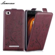 For Xiaomi Mi4i Case Luxury Flip Leather Cover For Xiaomi Mi4c Mi 4c Mi 4i Pouch Bags Protective Phone Sheer JRYH