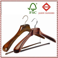DL0890 Antique Suit Hanger Wooden