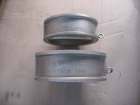 China OEM 316SS 304SS Stainless Steel Wafer Dual Plate Check Valve
