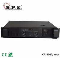 CA-3000 spe audio 1600w extreme power amplifier