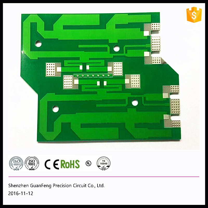 Professional custom Rogers 4350B high-frequency 4-layer PCB