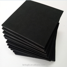 Thin Heat Resistant black closed cell foam epdm rubber sheets