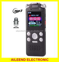 Professional 8GB LCD Digital Voice Recorder with VOR MP3 Player recorder voice