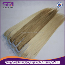 wholesale long straight remy tape hair extensions