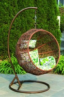 2015 Newest design single patio swing/ outdoor furniture/ garden swing