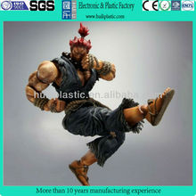 Customized game character action figure,Make custom plastic game figure characters