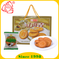 Hot sale Evergreen Onion Crispy biscuit manufacturer