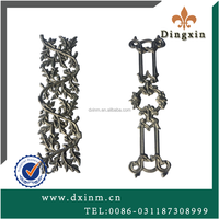Freedom of assembly sliding iron main gate design