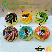 New product attractive style artificial food from manufacturer