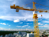 QTZ250(TC7030B)Slef-Raising tower crane/Hammerhead Tower Crane, travelling tower crane, tower crane boom length for sales