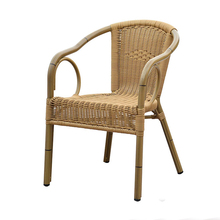 French bistro cheap rattan outdoor cafe furniture wicker restaurant chairs