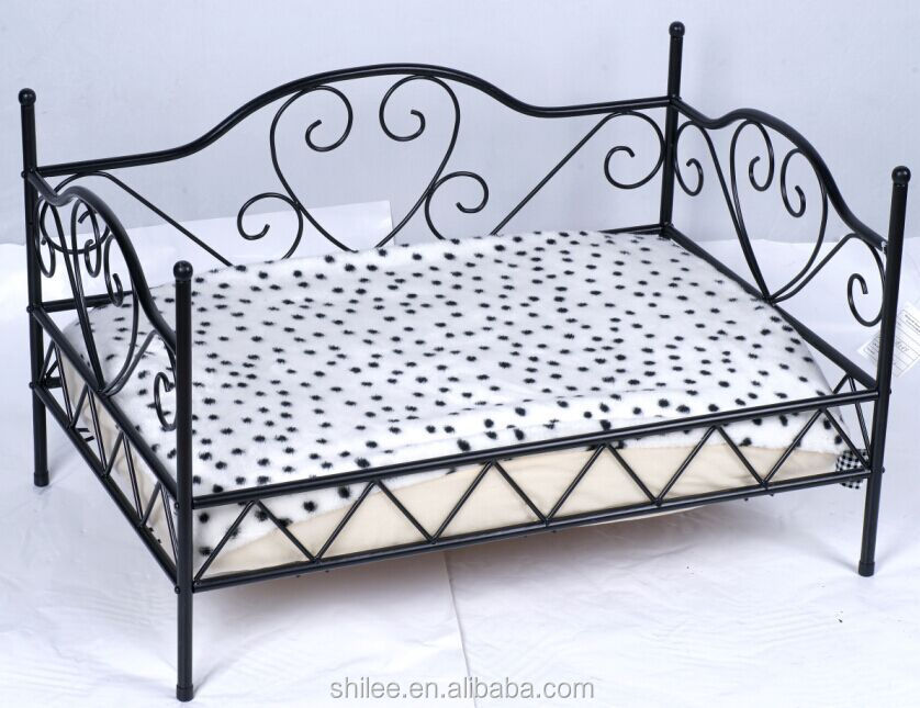 luxury wrought iron pet bed