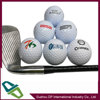 Sales all kinds of printing logo Golf Balls
