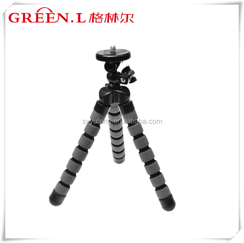 Digital Camera Tripod Mini Octopus Sponge Flexible Tripod