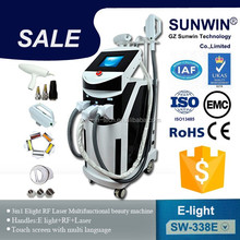 Nd yag laser tattoo removal elight rf ipl laser hair removal machine price