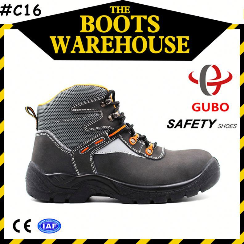 Hot sale steel toe safety footwear,high heel steel toe footwear