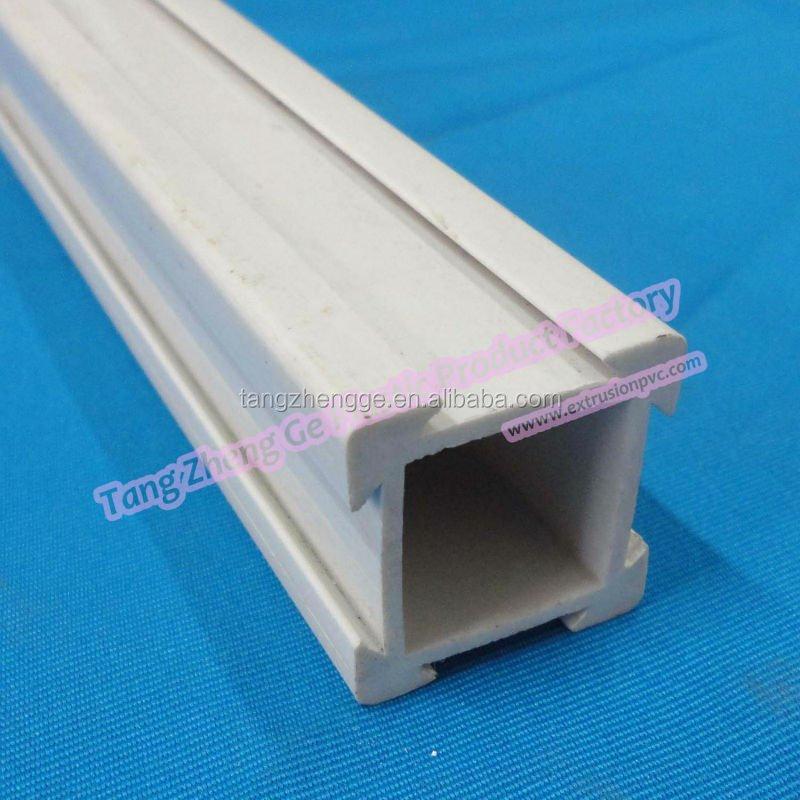 Lanxi extrusi n panel de pvc perfil r gido perfil de - Perfiles de plastico ...