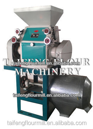 300kg/h mini wheat flour mill, maize grinding mill, home wheat flour mill