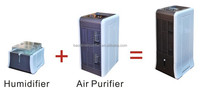 air purifier with humidifier to clean air