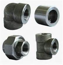 carbon steel forged pipe fittings dimensions