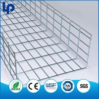 Lepin galvanizing Stainless wire mesh cable tray ce