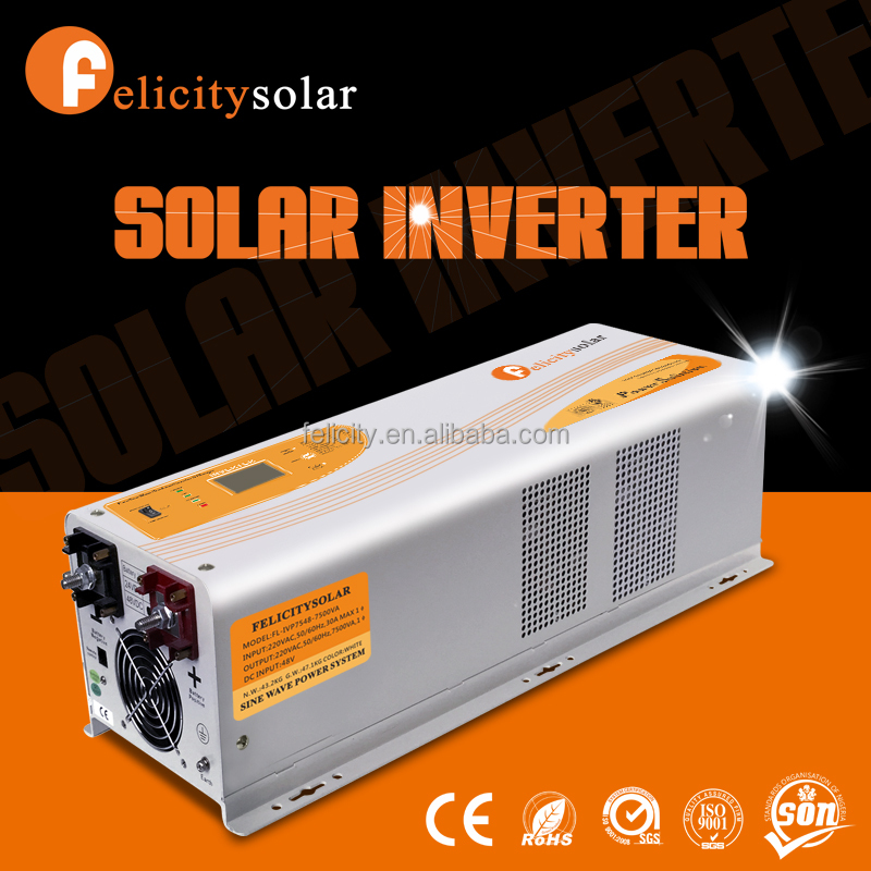 Reliable DC AC frequency energy saving industrial use inverter 7.5KVA