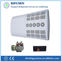 Model:AC28, rooftop 12V & 24V city bus air cooling system with famous compressor
