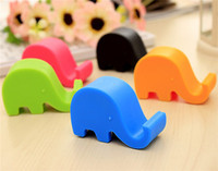 Hot sale phone holder Cute cell phone holder elephant shape mobile phone holder