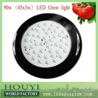 promotion!ebay best sale ufo 90w led grow light cree 3w chip best for flowering and fruiting with full spectrum