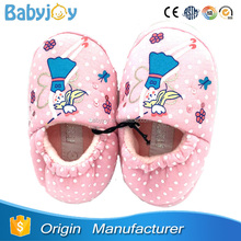 China manufacturer little fairy pattern kid slipper for girls, child slipper