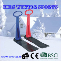 Children Foldable Snow Kick Ski Scooter